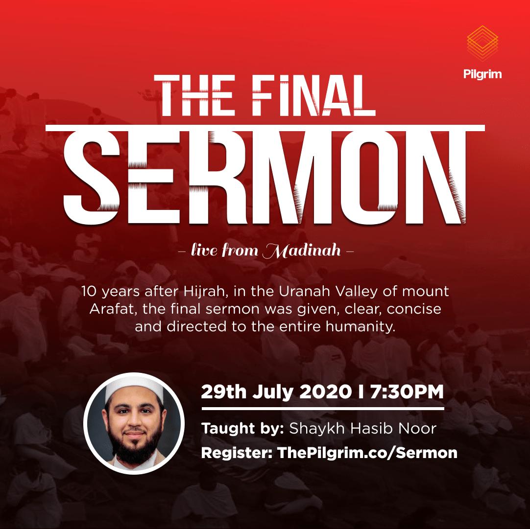 The Final Sermon, Arafat