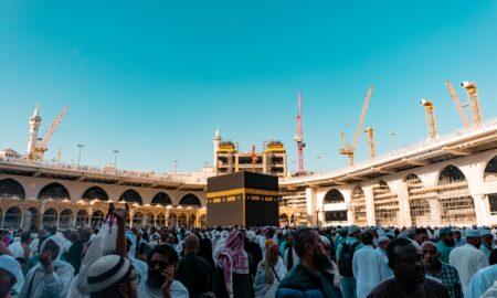 Nigerian Pilgrims attending Hajj