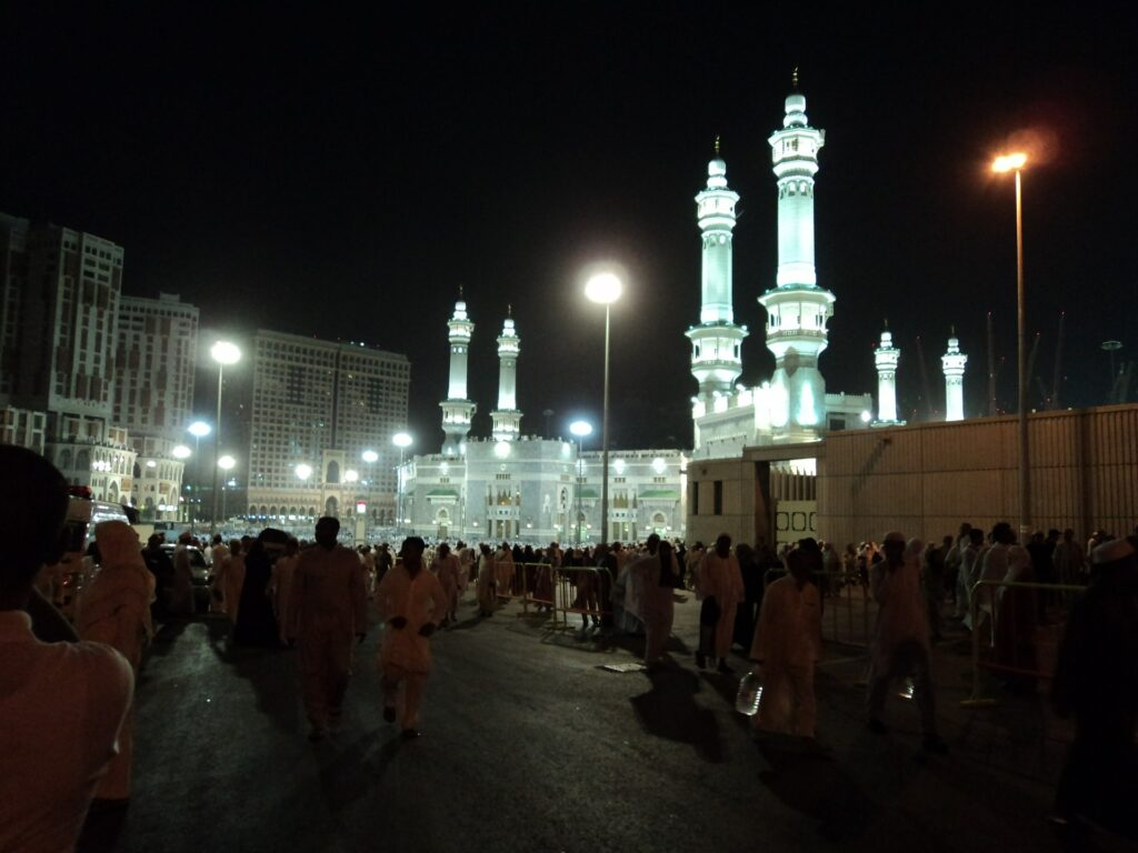 mosque in mecca for hajj and umrah