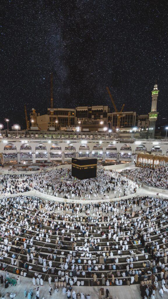 what is tawaf muslims performing tawaf around the kaaba